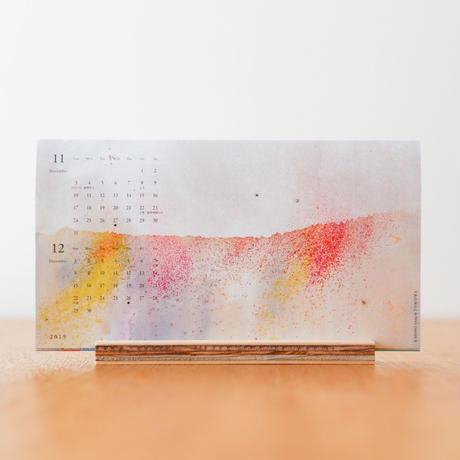 2019年 植田志保 卓上カレンダー