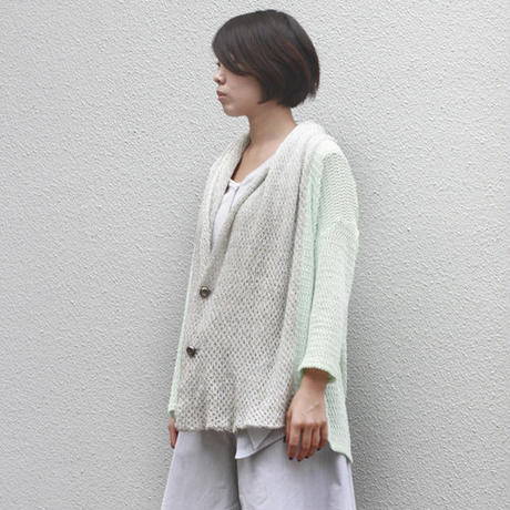 lame knit cardigan