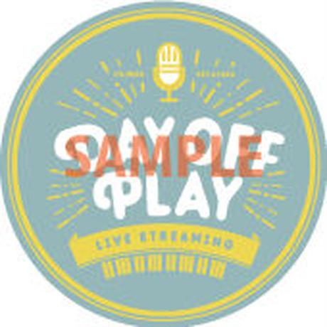 【第7弾】DAY OFF PLAY 応援ステッカー (投げ銭)