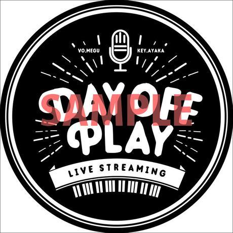 【第4弾】DAY OFF PLAY 応援ステッカー (投げ銭)