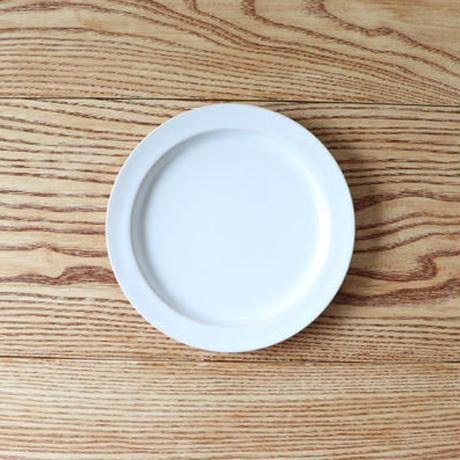 N▶400(エヌ・ヨンヒャク)  リム皿 6寸 ホワイト