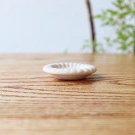 菊紋箸置 ホワイト