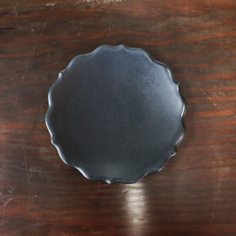 凛花小皿 マットブラック