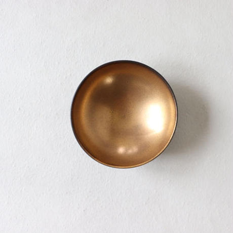 丸小鉢 ゴールド