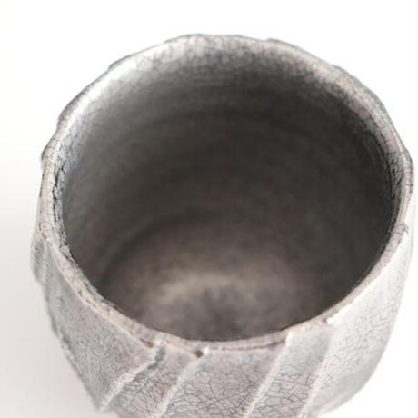 面取りカップ シルバー