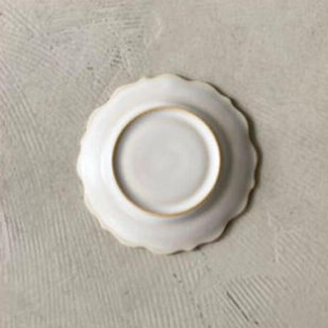 凛花小皿 ホワイト
