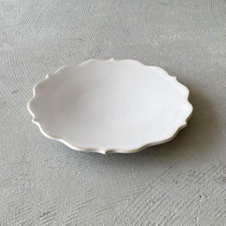 凛花皿 ホワイト