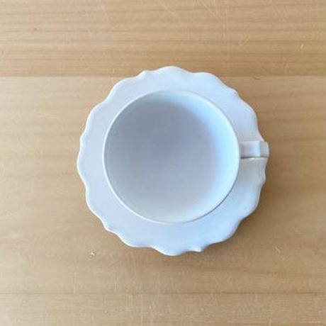 凛花カップ&ソーサー ホワイト