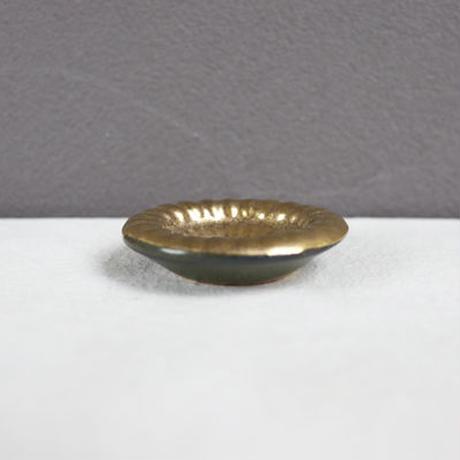 菊紋箸置 ゴールド