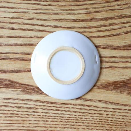 リム小皿 ホワイト