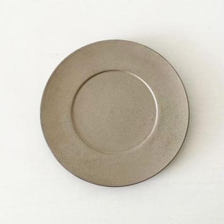 リム皿9寸 シルバー