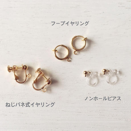 選べる金具 ★ Shooting star / Earrings