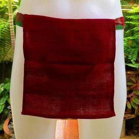 忍ふんどし手織綿ワインレッド ShiNoBi Samurai Under Wear Homespun Cotton Winered02