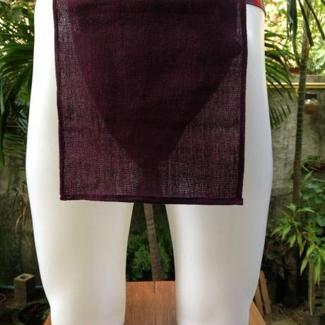 ふんどし【チェンマイ手織綿菫01】ShiNoBi Samurai Under Wear Homespun Cotton violet01