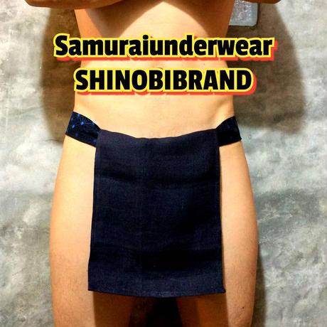 ふんどし【 ヘンプ紺 ヘンプブルー】ShiNoBi Fundoshi Hemp Navy03