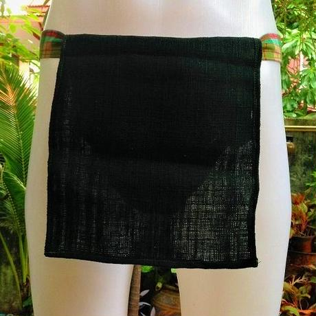 忍ふんどし New チェンマイ手織綿深緑01 ShiNoBi Samurai Under Wear Homespun Cotton Dark Green01
