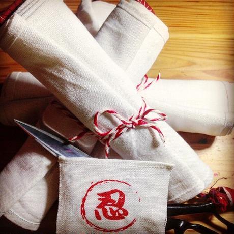 ふんどし【リネン純白02 日本カラー】ShiNoBi Samurai under wear Linen White02 Japancolor