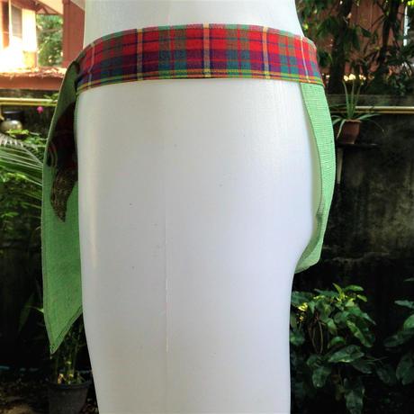 """ふんどし【あさみどり】 """"ASA-MIDORI""""   忍褌×ShiNoBi Samurai Underwear (素材:麻亜麻)"""