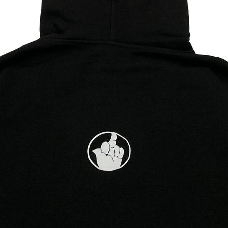 TAKE IT EASY BEHIND .... HOODIE BLACK