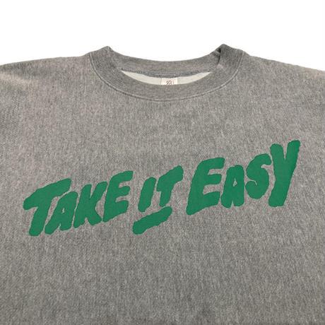 TAKE IT EASY CREW NECK