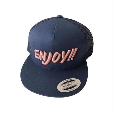 ENJOY!! MESH CAP NAVY