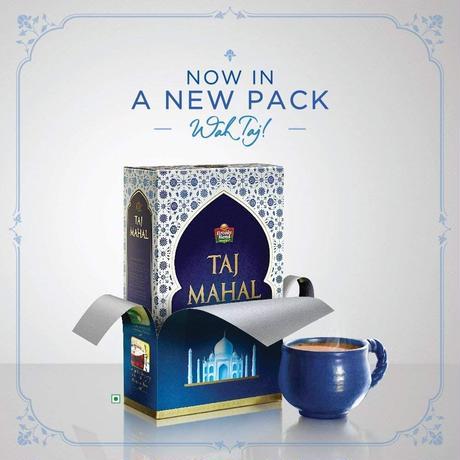 チャイ用紅茶 タージマハル ティー Brooke Bond   インド 茶葉   TEA - 490g