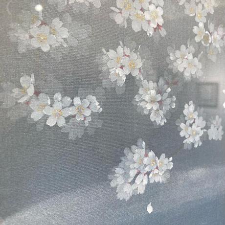 谷中美佳子 「淡墨桜」 サムホール