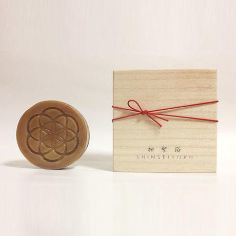 神聖浴 SHINSEIYOKU 【Yakushima Sacred Soap】桐箱入り