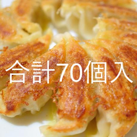 パワー冷凍生餃子(14個入)×5袋 合計70個入