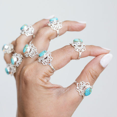 no.4silver925×turquoise