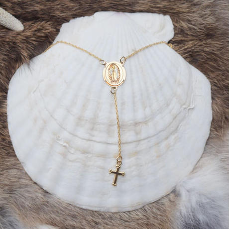 14kgf  rosario necklace