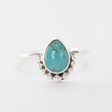 no.1 silver925×turquoise
