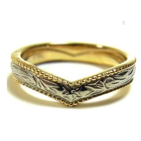 no.9 gold enclose Hawaiian ring