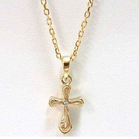 no.21  Hawaiian cross necklace