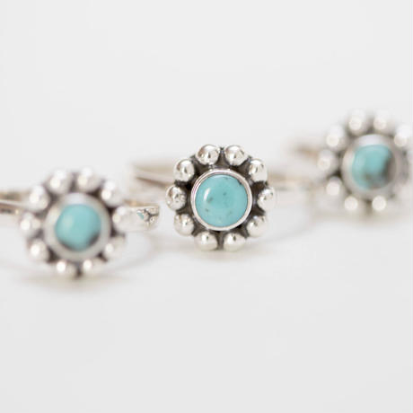 no.8 silver925×turquoise
