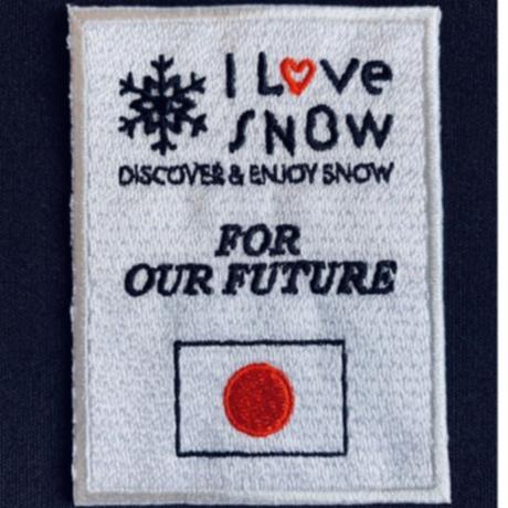 「I LOVE SNOW」Classic/Newロゴ スペシャルシャルコラボセット
