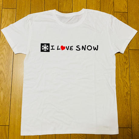 I LOVE SNOW Classic ロゴTシャツ