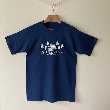 オリジナルTシャツ【小屋】ワイン