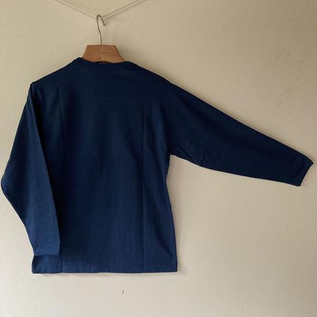 長袖Tシャツ【小屋】グレー