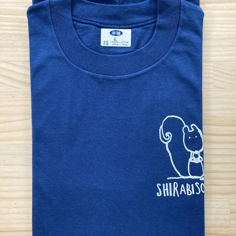 オリジナルTシャツ【りす】ネイビー