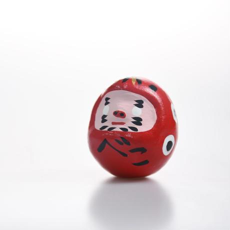 【迎春フェア!】干支かざり(金べこ)〜500円相当の干支だるま「赤べこ」付き〜