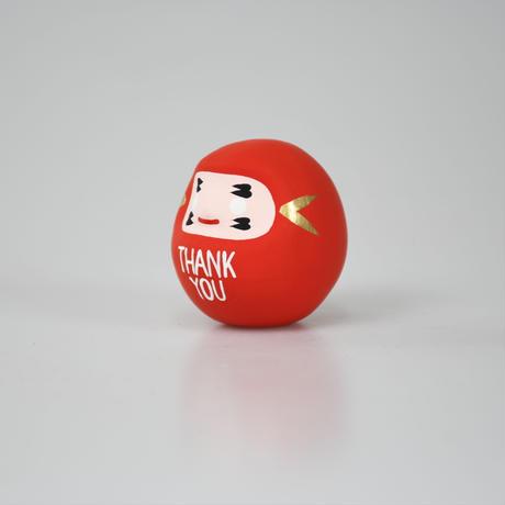 THANK YOU だるま 赤 S