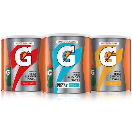 Gatorade ゲータレード 粉末3缶 + ボトル1本セット!