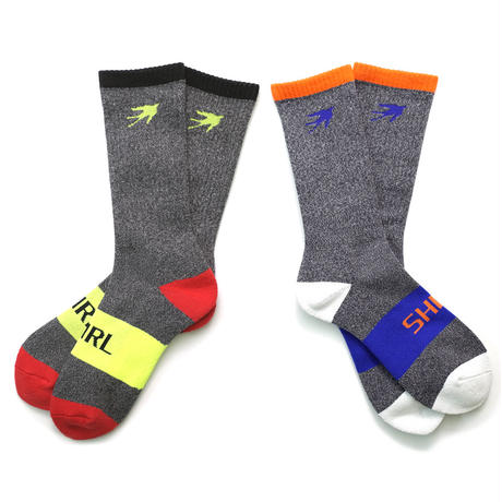 SHIRL SPORTS PILE SOCKS 2足セット (SH171601SC2)  MADE IN JAPAN