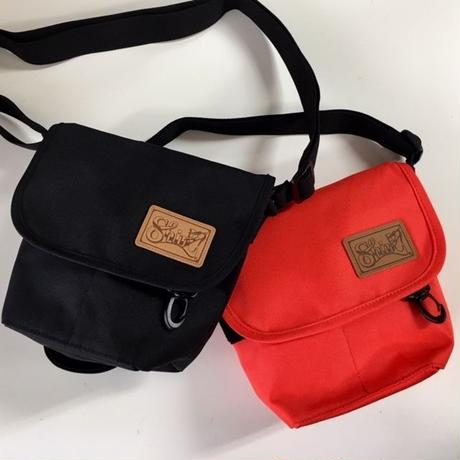 LEATHER PATCH MINI POUCH ミニポーチ ORANGE