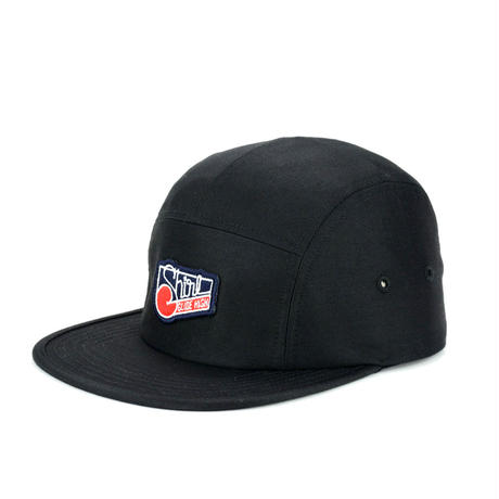 SQUARE COMFORT-5 CAP (BLACK) made in japan(SH150103BLK)