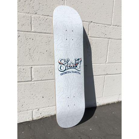 TETSUYA YASUTA signature  SKATE DECK  [MADE IN USA]