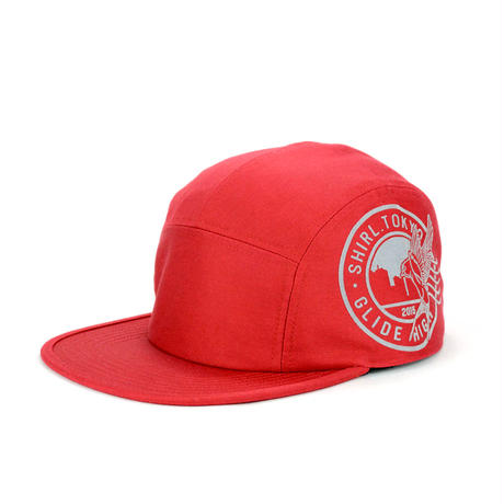 STAMP COMFORT-5 CAP (RED) made in japan (SH150101RED)
