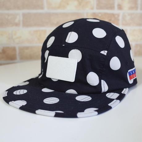 """""""DOT"""" 5 PANEL CAP (NAVY) made in japan (SH19001DOT)"""
