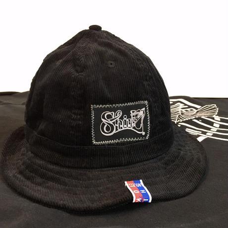 FRAME FLOCKY CORDUROY METRO HAT ( SH202101BLK)